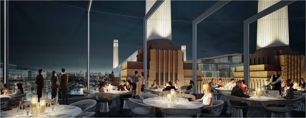 Art Otel Battersea Power Station interior