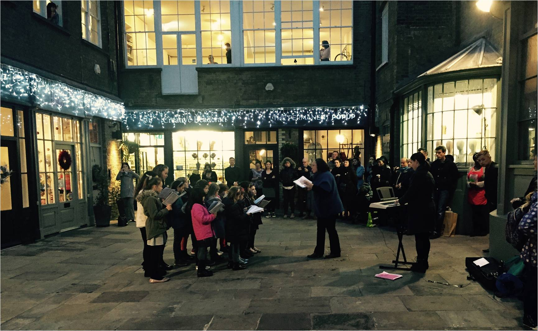 Carols at Smiths' Court Soho