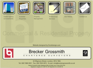 Brecker Grossmith Website 2002