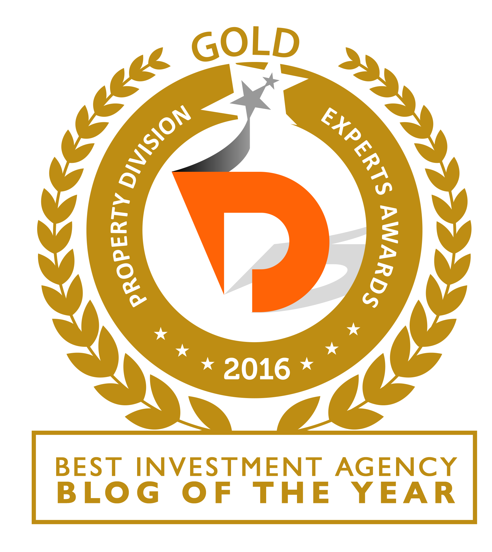 investment agency blog award