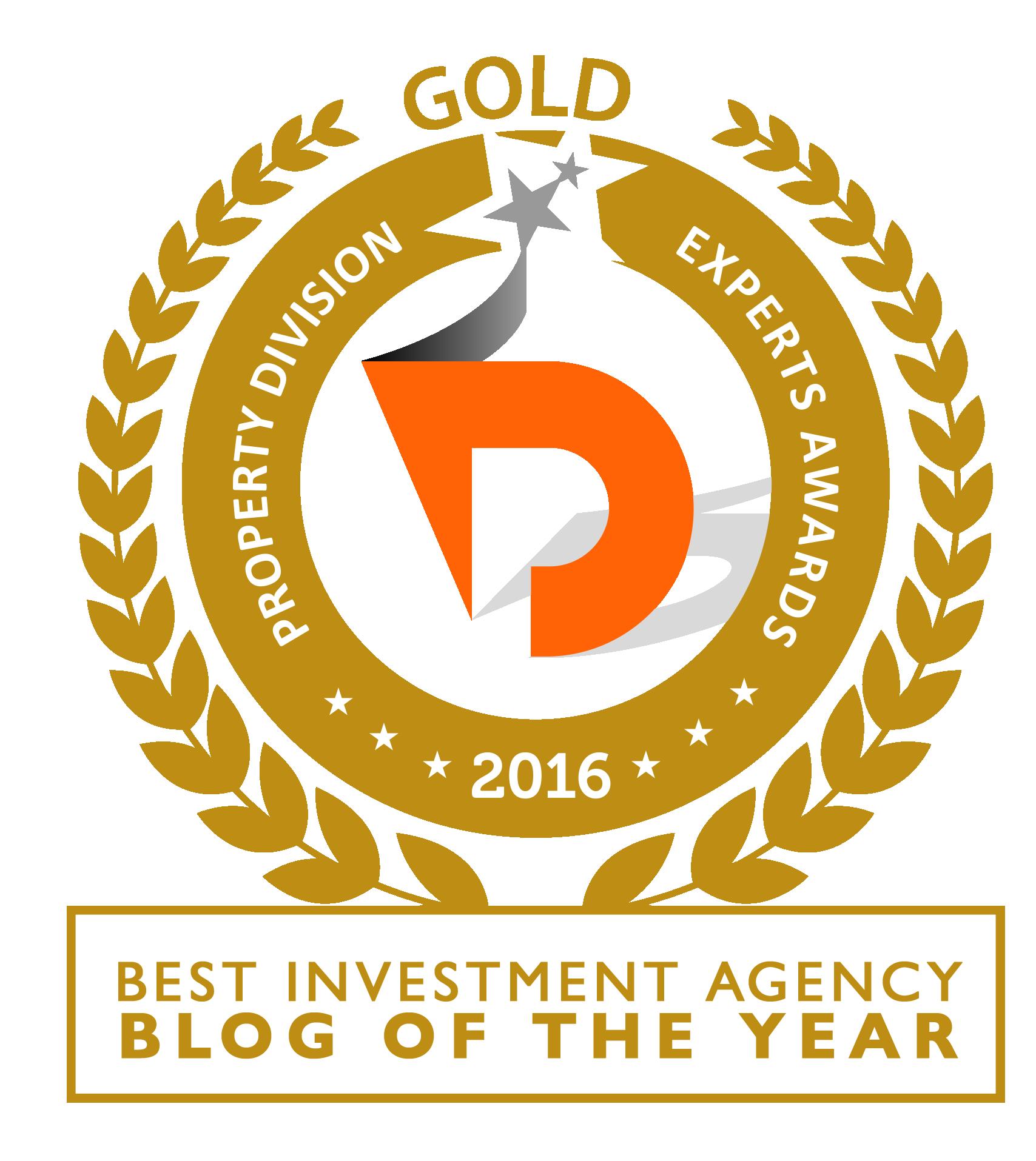 investment agency blog award